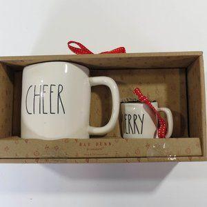 Rae Dunn Merry Cheer Christmas Mug